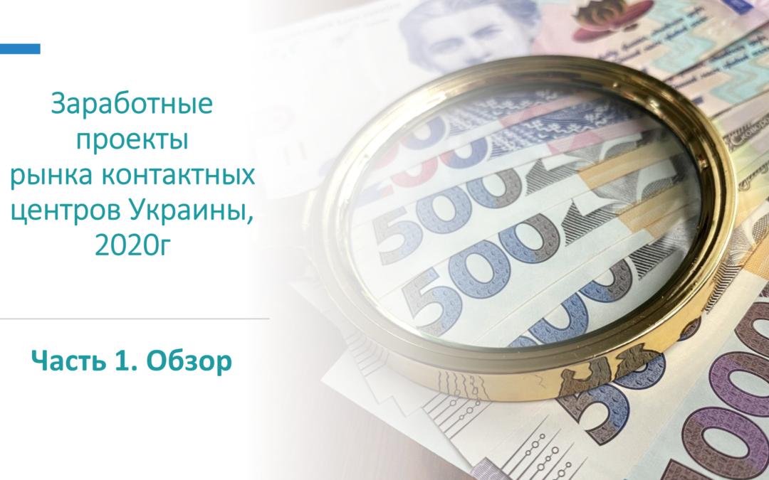 Заробітні проекти ринку контактних центрів України